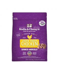 Stella and Chewys Chick, Chick Chicken Frozen Dinner Morsels Cat Food 3lb