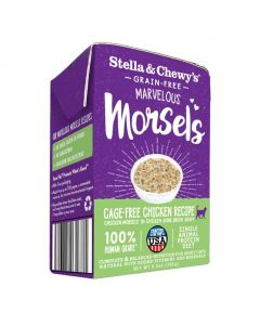 Stella and Chewys Cage-Free Chicken Morsels Cat Food 5.5oz