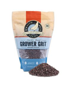 Scratch and Peck Feeds Cluckin' Good Grower Grit Supplement for Chickens & Ducks 7lb