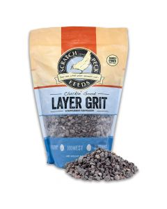 Scratch and Peck Feeds Cluckin' Good Layer Grit Supplement for Chickens & Ducks 7lb