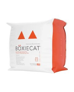 Boxiecat Extra Strength Scent Free Premium Clumping Clay Cat Litter 28lb
