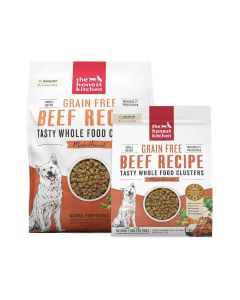Honest Kitchen Grain-Free Beef Whole Food Clusters Dry Dog Food 20lb