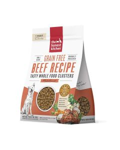 Honest Kitchen Grain-Free Beef Whole Food Clusters Dry Dog Food 5lb