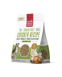 Honest Kitchen Grain-Free Chicken Whole Food Clusters Dry Dog Food 5lb
