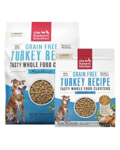 Honest Kitchen Grain-Free Turkey Whole Food Clusters Dry Dog Food 20lb