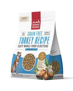 Honest Kitchen Grain-Free Turkey Whole Food Clusters Dry Dog Food 5lb