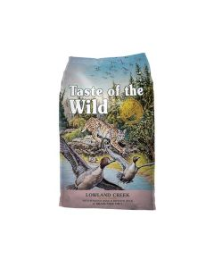 Taste of the Wild Lowland Creek Grain-Free Roasted Quail & Roasted Duck Dry Cat Food 5lb