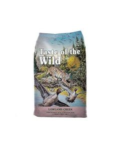 Taste of the Wild Lowland Creek Grain-Free Roasted Quail & Roasted Duck Dry Cat Food 14lb