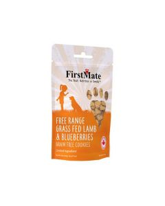First Mate Dog Treats Lamb & Blueberries Grain Free Cookies
