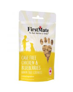 First Mate Cage Free Chicken & Blueberries Treats
