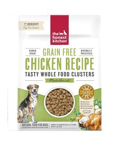 Honest Kitchen Grain-Free Chicken Whole Food Clusters Dry Dog Food 1lb