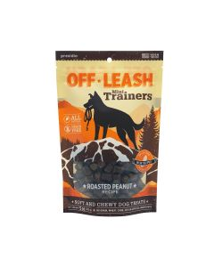 Presidio Natural Pet Off Leash Mini Trainers Roasted Peanut Recipe Dog Treats 5oz
