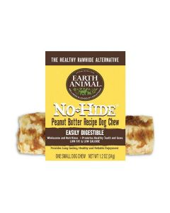 "Earth Animal No Hide Peanut Butter Chew 4"" 2 Pack"
