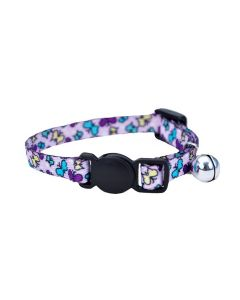 Li'l Pals Cat Collar Safety Purple Butterfly Iwe-0001083