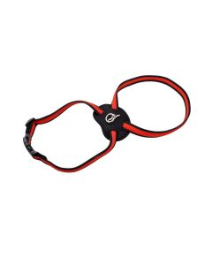 Size Right Red Mesh Dog Harness Large