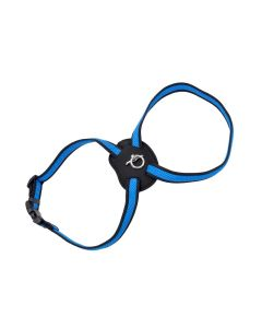 Size Right Blue Mesh Harness Small