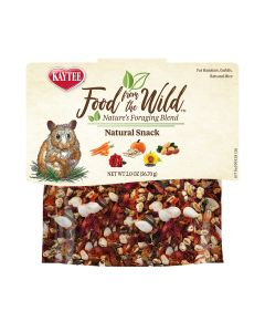 Kaytee Foraging Blend Hamster Gerbil Food From The Wild Treat 1oz
