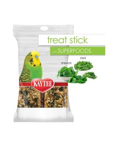Kaytee Avian Spinach & Kale Superfood Treat Stick 5.5oz