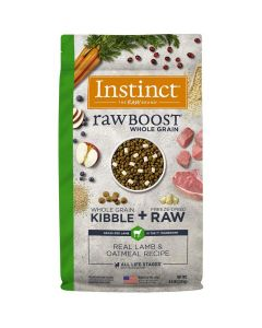 Nature's Variety Instinct Raw Boost Whole Grain Real Lamb & Oatmeal Dry Dog Food 20lb