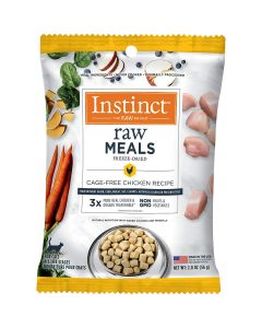 Nature's Variety Instinct Raw Freeze-Dried Grain Free Cage-Free Chicken Cat Food 2oz