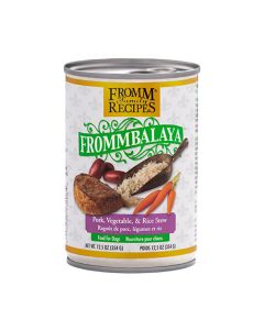 Fromm Frommbalaya Pork Rice & Vegetable Stew Dog Food 12.5oz