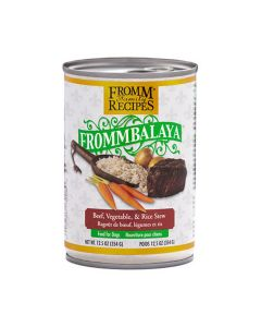 Fromm Frommbalaya Beef Rice & Vegetable Stew Dog Food 12.5oz