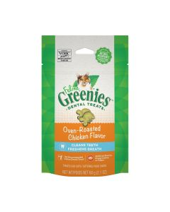 Greenies Feline Dental Treats Oven Roasted Chicken Flavor 2.1oz