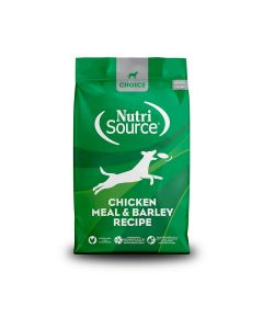 Nutrisource Choice Chicken Meal & Barley Recipe Dry Dog Food 5lb