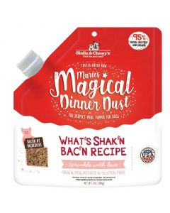 Stella and Chewys Marie's Magical Dinner Dust What's Shak'n Bac'n Dog Meal Topper 7oz