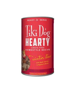 Tiki Dog Hearty Beef Winter Stew Dog Food 12.5oz