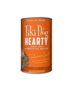Tiki Dog Hearty Turkey Autumn Stew Dog Food 12.5oz
