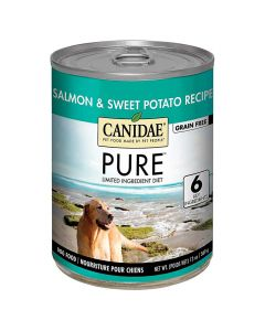 Canidae PURE Grain Free Salmon and Sweet Potato Wet Dog Food 13oz