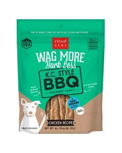 WAG MORE KC STYLE BBQ JERKY CH