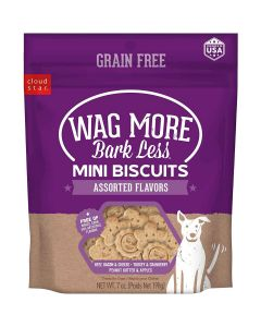 WAG MORE GF MINI BISCUITS 7oz