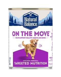 Natural Balance Targeted Nutrition On The Move Canned Dog Food 13oz