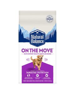 Natural Balance Targeted Nutrition On The Move Dry Dog Formula 4lb