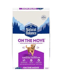 Natural Balance Targeted Nutrition On The Move Dry Dog Formula 24 lb