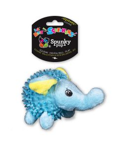 Spunky Pup Lil' Bitty Squeaker Elephant Dog Toy