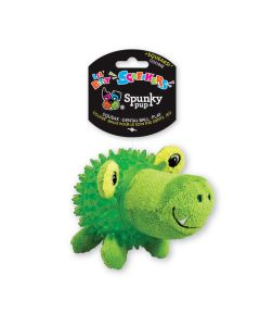 Spunky Pup Lil' Bitty Squeaker Gator Dog Toy