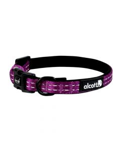 Alcott Adventure Collar Small Purple