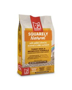 Squarely Natural™ Turkey Meal & Brown Rice for Dogs 22lb