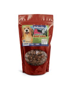 Bellyrubs Freeze-Dried Beef Liver 14oz