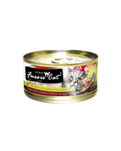 Fussie Cat Tuna with Salmon 2.8oz