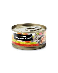Fussie Cat Tuna with Chicken Liver 2.8oz