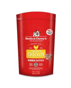 Stella and Chewys Chewy's Chicken Frozen Dinner Patties 12lb