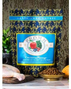 Fromm Chicken Au Frommage Recipe Dry Cat Food 5lb