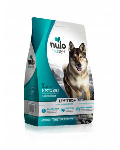 Nulo FreeStyle Puppy/Dog Limited+ Salmon Grain Free Dry Dog Food 4lb
