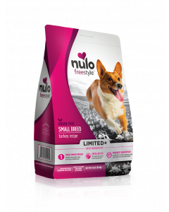 Nulo FreeStyle Small Breed Dog Limited+ Grain Free Turkey Dry Dog Food 4lb