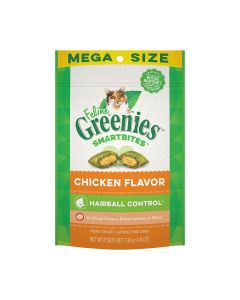 Greenies Hairball Control Treats Chicken Flavor 4.6oz