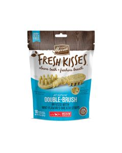 Merrick Fresh Kisses Mint Breath Strips For Large Dogs, 10 Pieces